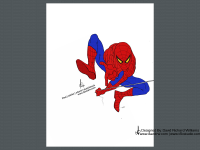 DRW-Sketch-Spiderman