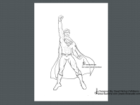 DRW-Sketch-Superman